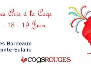 Première édition du Festival des Arts à la Coqs du 16 au 19 Juin.