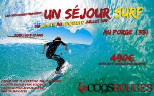 Affiche séjour Surf Juillet 2015