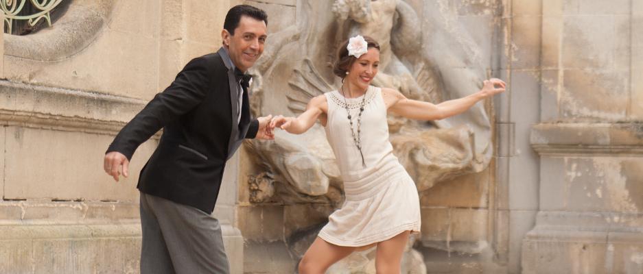 Les professeurs de Swing, Denis et Cécile