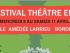Le Festival Théâtre en 4 aura lieu du 8 au 11 Avril, Salle Amédée Larrieu
