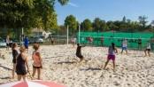 Tournoi de Beach Tennis à Moulerens en ce début du mois d'Octobre