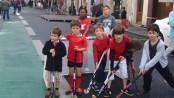 L'animation Hockey a été appréciée par les jeunes du quartier.