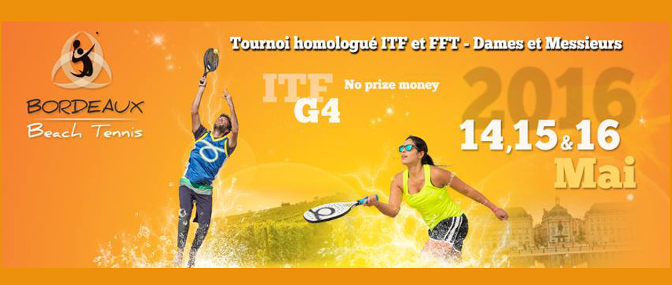 La 2ème édition du tournoi international de Beach Tennis aura lieu du 14 au 16 Mai.