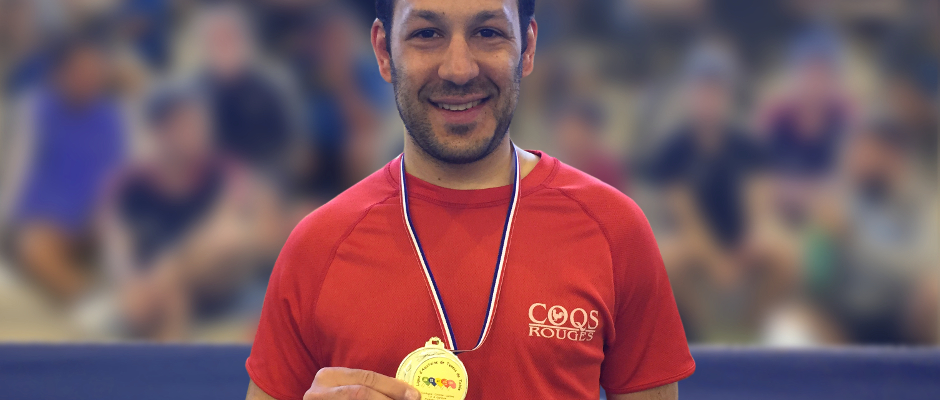Damien Fontaine Champion d'Aquitaine 2016