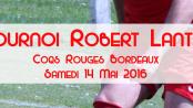 Le Tournoi Robert Lantié 2016 accueillera plus de 500 enfants.