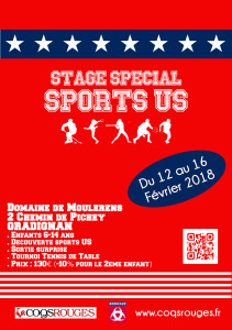 Stage Spécial Sports US