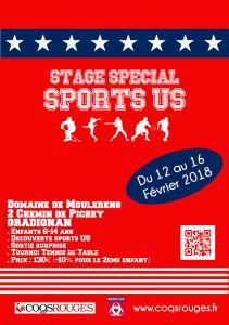 Stage Spécial Sports US