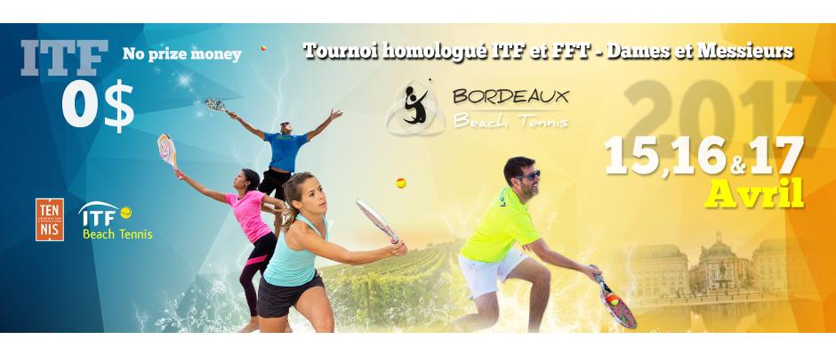 Tournoi ITF Beach Tennis 2017