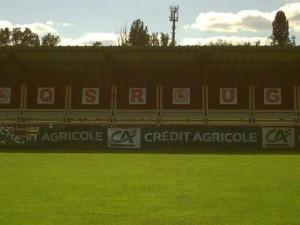 Le terrain d'honneur de Football du domaine de Moulerens.