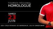 Tournoi régional homologué des Coqs Rouges